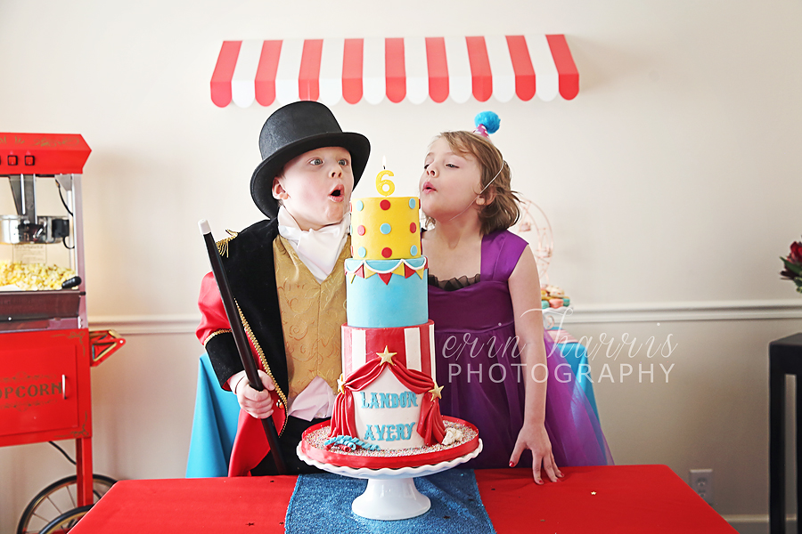 Awe Inspiring Avery And Landons 6Th Birthday Party The Greatest Showman Funny Birthday Cards Online Sheoxdamsfinfo